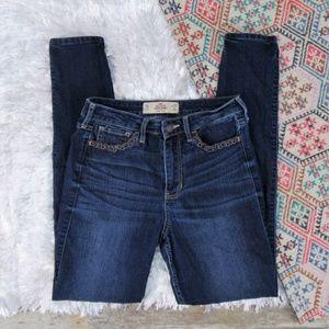 Hollister Super Skinny High Rise Denim Jeans